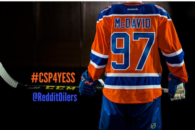 CSP4YESS Reddit Oilers Community Fundraiser