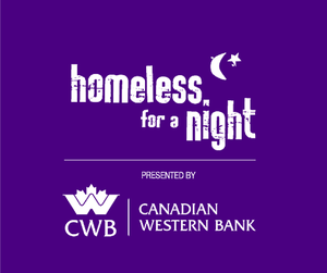 Homeless For A Night presented by Canadian Western Bank
