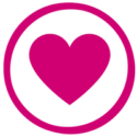 Heart icon for gift of counselling