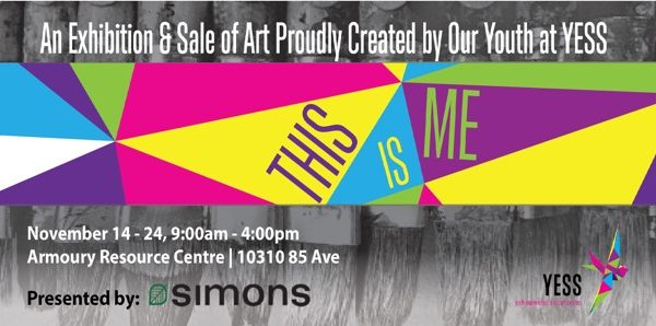 This Is Me: Youth Art Show banner