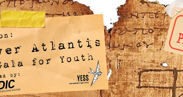 2017 YESS Gala for Youth Discover Atlantis banner