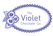 The Violet Chocolate Company logo