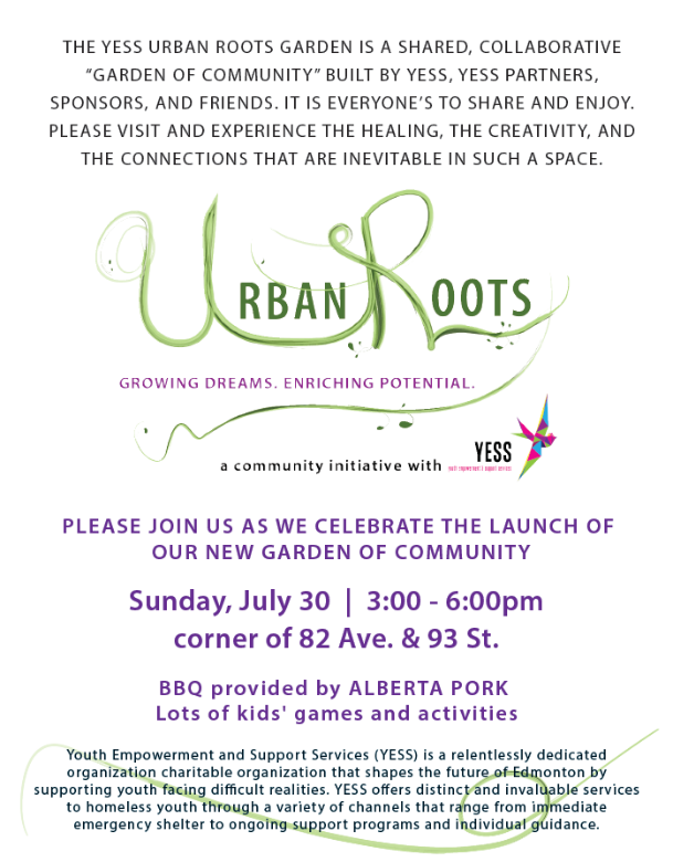 Urban Roots Invitation