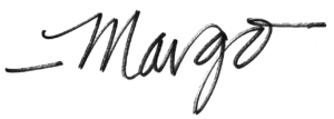 YESS Executive Director Margo Long's signature