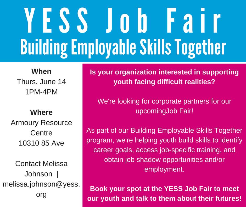 YESS Job Fair Poster