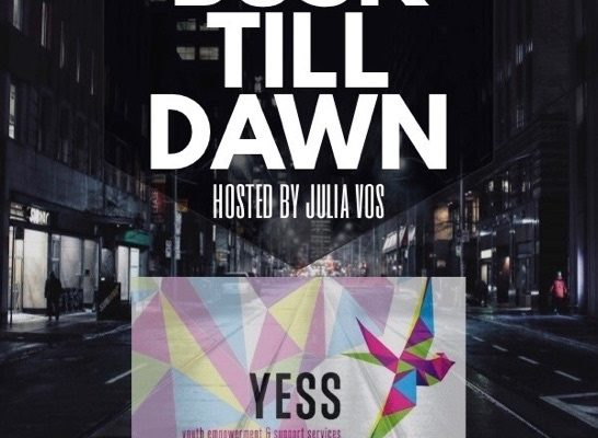 Busk Till Dawn Event Poster by Julia Vos